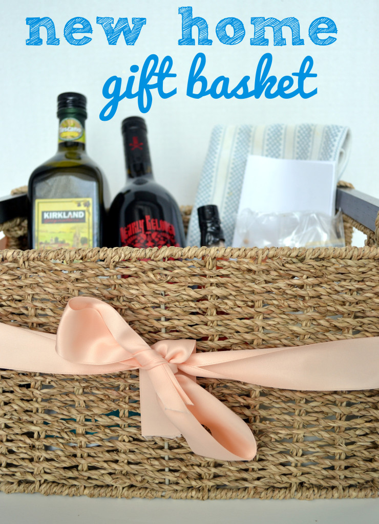 Diy Housewarming Party Gift Basket With A Sentimental Twist