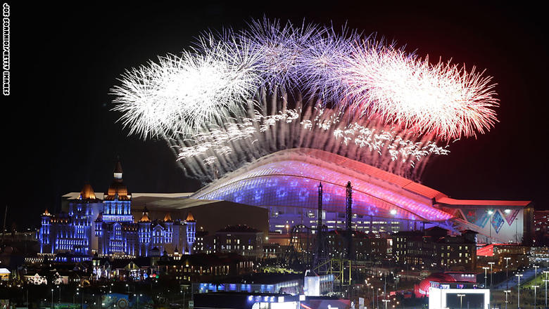 Photo of Sochi Fireworks