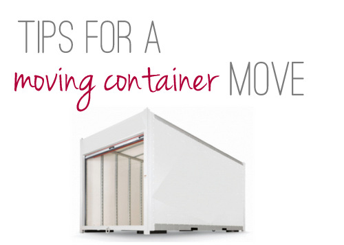 Tips for a Moving Container Move
