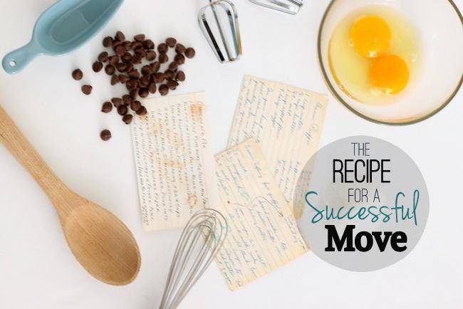 Recipe for a successful move