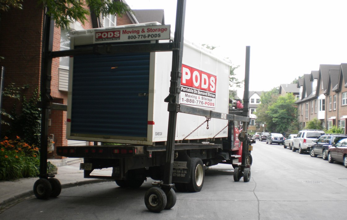 How Do I Load My PODS Moving Container?